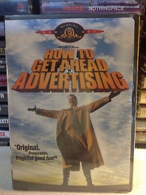 How to Get Ahead in Advertising (DVD, Widescreen  Full Frame) Brand New Sealed