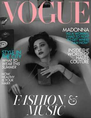 MADONNA - BRITISH VOGUE Magazine June 2019 New Mert & Marcus Medellin Madame X