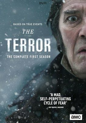 The Terror Season 1 DVD Series Brand New Box Set / New & Sealed / UK Compatible