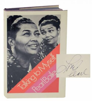 Pearl BAILEY / TALKING TO MYSELF Signed First Edition 1971 #129331