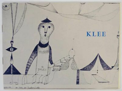 EXHIBITION OF PAINTINGS AND DRAWINGS BY PAUL KLEE / First Edition 1963 #133481