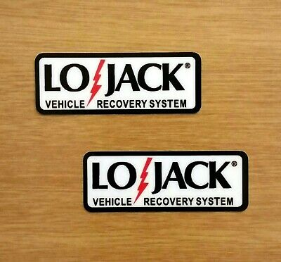 LG Lojack Lo-jack decal sticker RV Boat Motorcycle Equipment Car Truck security