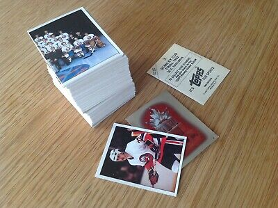 Near Complete Set Topps 1982 NHL Hockey Trading Cards Bubblegum Stickers