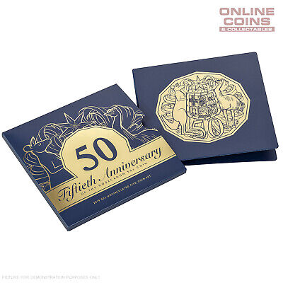 2019 RAM 5 Coin Uncirculated Set 50th Anniversary of the Dodecagon 50c Coin