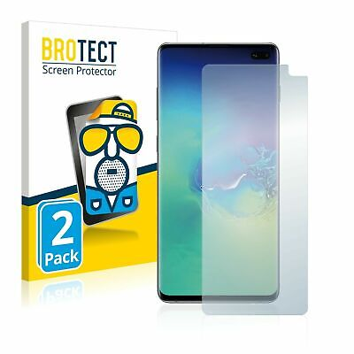 Samsung Galaxy S10 Plus , 2x BROTECT® Matte Screen Protector hard-coated