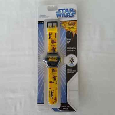 Star Wars Projector Watch Clone Wars BRAND NEW
