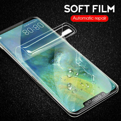 9D Full Curved Screen Protector Hydrogel Film For Huawei P30 Mate 20 Pro Lite