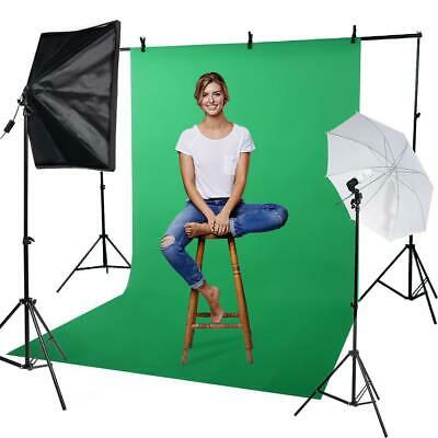 VBESTLIFE 50*70cm Softbox Studio Lighting Lamp US Plug 110V + 2m Light Stand LJ