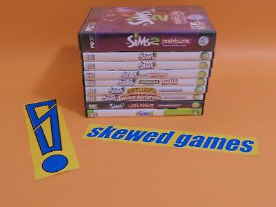The Sims 2 3 4 Expansions Bundle Lot - For Ornamental Display Only - PC