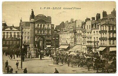 CPA - Carte Postale - France - Lille - Grand Place - 1932 (M8437)