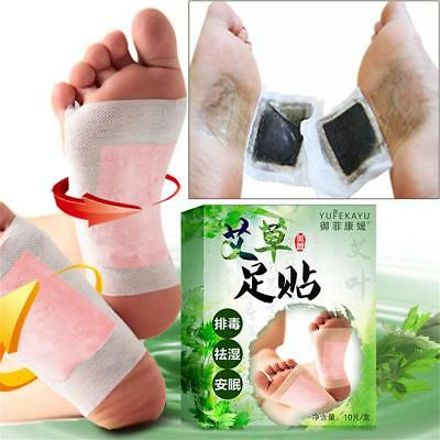 10x Good Detox Foot Pads Parche Detoxify Toxins Adhesivo Keeping Fit Health Care