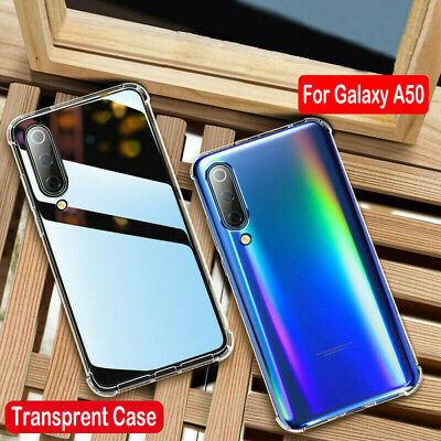 For Samsung Galaxy A70 60 A50 A40 A20E Clear Silicone Soft Shockproof Case Cover