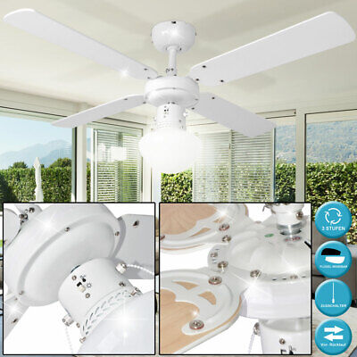 50 W Ceiling Vent Glass Lamp Living Room Air Freshener Cooler Pull Switch