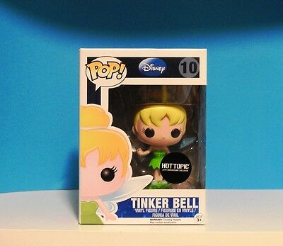 Funko POP! Tinker Bell #10  hot topic 20th annv exclusive +P/Prot
