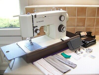 Superb Singer 5102 Zigzag Heavy Duty Sewing Machine,Access,Expertly Serviced