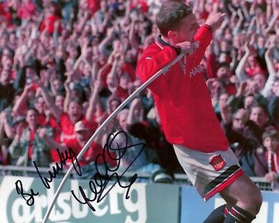 Lee Sharpe - Manchester United - Signed Autograph REPRINT