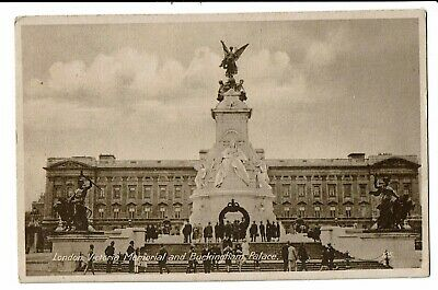 CPA - Carte Postale -Royaume Uni- London-Memorial and Buckingham Palace-1930 VM2