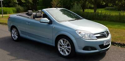 2009 VAUXHALL ASTRA 1.9 CDTi 16v CONVERTIBLE TWIN TOP DESIGN, 1 OWNER LOW MILES