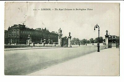CPA - Carte Postale-Royaume Uni- London- The Royal entrance to Buckingham Palace