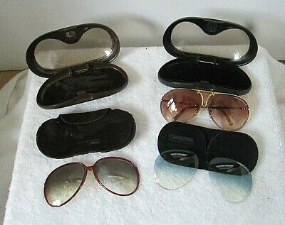 689219b23630d Vintage Porsche Carrera Men s Aviator Sunglasses 5623 72 with Extra Lenses