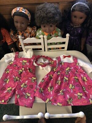 016044162c5e2 AMERICAN GIRL BITTY Baby Twin Butterfly Dress and Boots Outfit Sunny ...