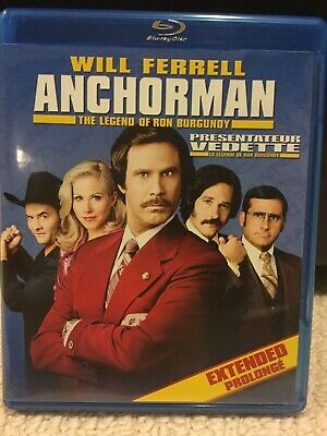 Anchorman: The Legend of Ron Burgundy (Blu-ray) The Rich Mahogany Edition