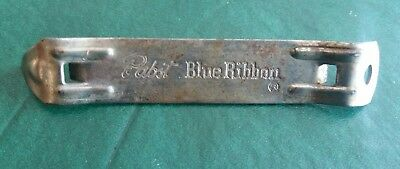 Vintage 1960's Pabst Blue Ribbon PBR Beer Can and Bottle Opener