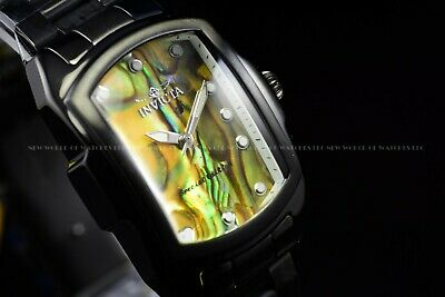 Invicta Men's 63mm Reserve Grand Octane Black Yellow Abalone Swiss Mvmt SS Watch