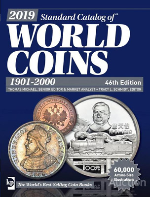 2019 New !!! Standard catalog of world coins 1901-2000 ( 46 edition )