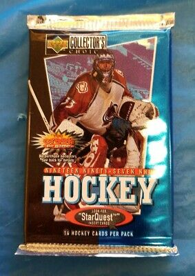 1997 Upper Deck Collectors Choice Hockey unopened Trading Card Pack sealed NHL