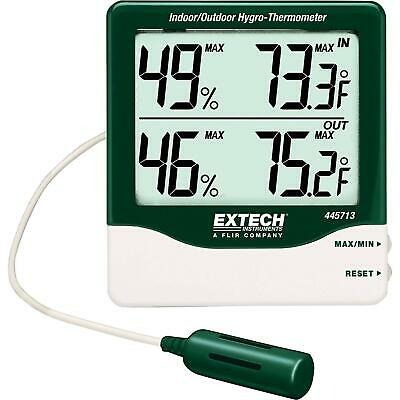 Extech Instruments 445713 Big Digit Indoor/Outdoor Hygro-Thermometer