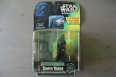 Star Wars Darth Vader Electronic Glowing Lightsaber Power F/X Action Figure Toy