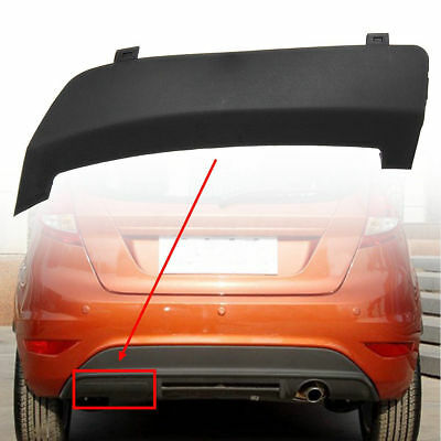 New Rear Bumper Tow Towing Eye Hook Cover Cap For Ford Fiesta Mk7