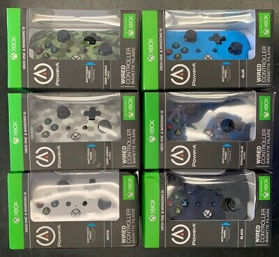 Xbox One & Windows 10 Wired Controler Power A *Brand New*