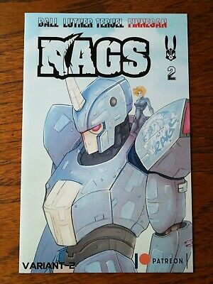 Rags #2 - Mecha Patreon Exclusive Variant - Uncensored