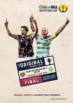 PRE-ORDER Celtic v Heart of Midlothian 2018/19 Scottish Cup Final new programme