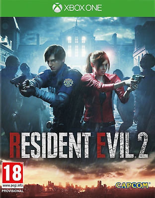 Resident Evil 2 REmake PAL UK Xbox One S X 1 BRAND NEW & FACTORY SEALED RE2R