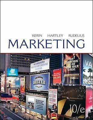 Marketing by William Rudelius, Steven W. Hartley and Roger A. Kerin (2010,...