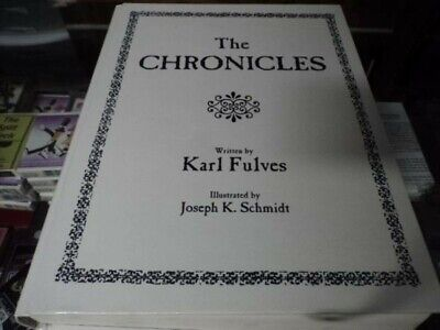 The Chronicles by Karl Fulves Magic Trick Book, coin magic card magic In wrapper