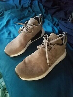 8bb7e2fe0 Adidas Mens size 12 NMD C2 Suede Running Sneaker