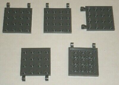 Lot of 25 New Free shipping! LEGO 1x2 Black plates