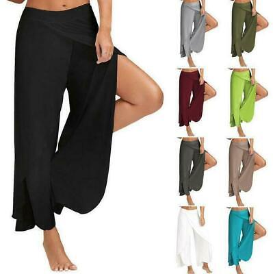 Women's Clothing Pants & Capris Obedient Hot Fashion Casual Women Beach Wear Floral Printed Wide Leg Long Harem Pants High Waist Loose Elastic Waist Palazzo Trousers