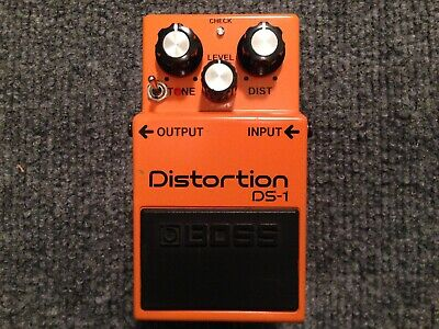 BOSS DS-1 DISTORTION with Keeley Seeing Eye and Ultra Mods Guitar Bass Pedal