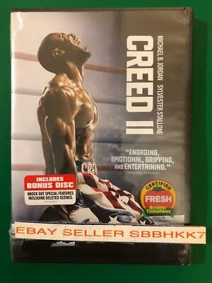 Creed II 2 DVD 2 DISC {{AUTHENTIC DVD READ DESCRIPTION}} New Free Shipping