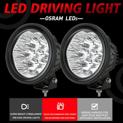 NEW DESIGN OSRAM Slimline 7INCH LED Driving Lights REPLACE HID Spot Work Offroad