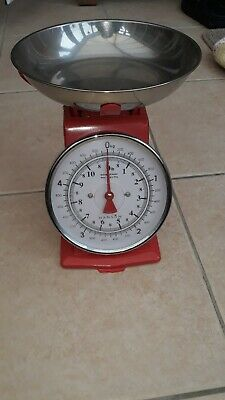 Retro Vintage Tower Kitchen Scales Lbs Oz