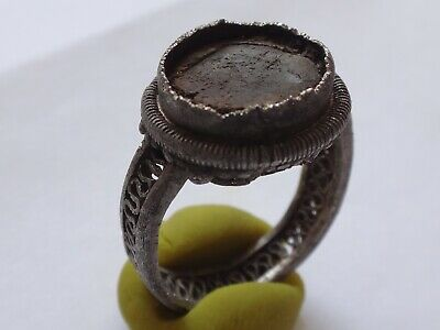 Ancient Byzantine Silver  Ring   7,19 g/ 26,5mm / 18 mm