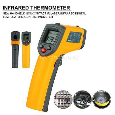 Thermometre Infrarouge Temperature Surface Sans Contact Laser Cuisine G