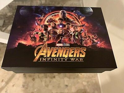 Storage Box For Blu Ray Avengers Infinity War Blufans Exclusive - Empty Box