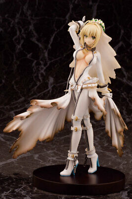 Anime Fate/EXTRA CCC Saber Wedding Dress Sexy Girl PVC Figure New No Box 22m